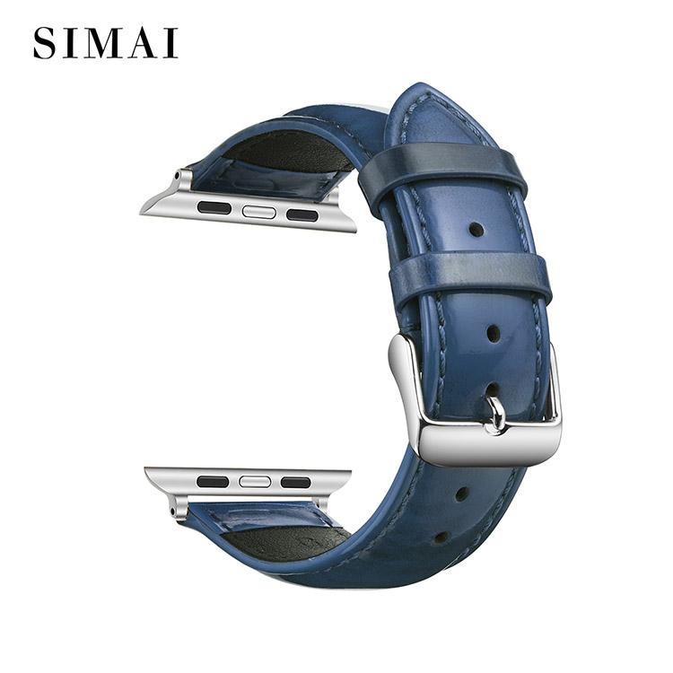 Simai huawei soft leather watch band manufacturers for Huawei-1