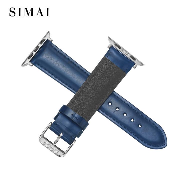 Simai huawei soft leather watch band manufacturers for Huawei-2
