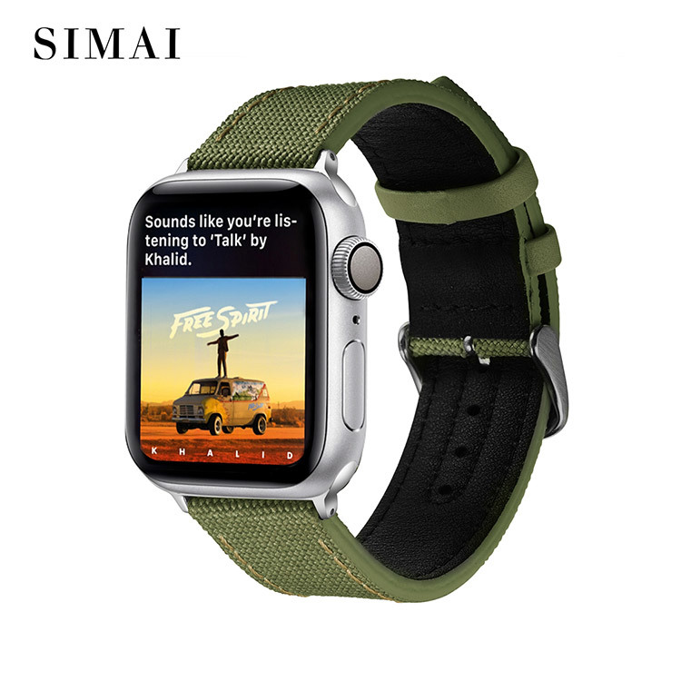 Snakeskin Leather Strips Apple Watch Band Manufacturer