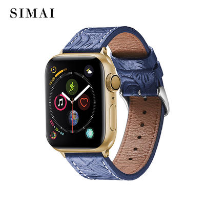 Custom Leather Retro Watch Band for Apple Watch Series