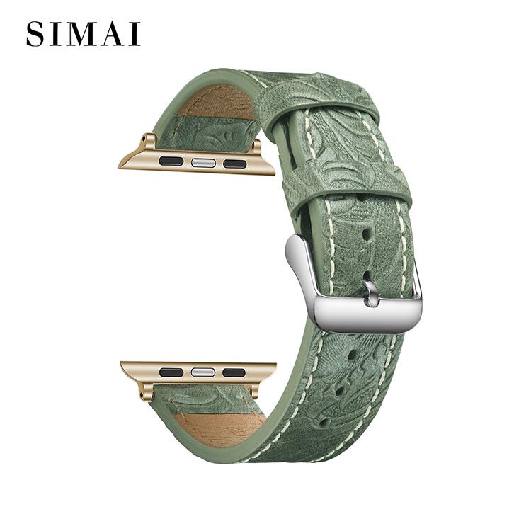 Best cuff watch leather army supply for iwath-2