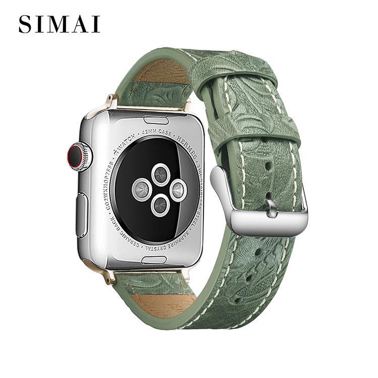 Best cuff watch leather army supply for iwath-1
