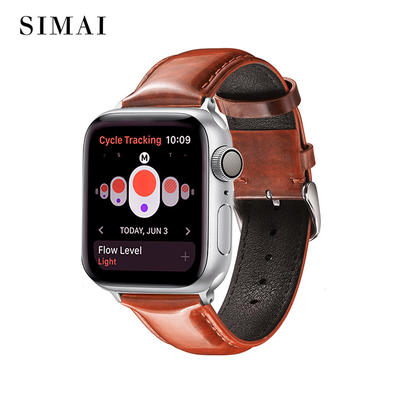 Custom Quality Leather Watch Bands Apple Series