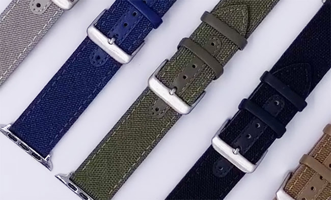 Wholesale Cloth Apple Watch Band Manufacturer