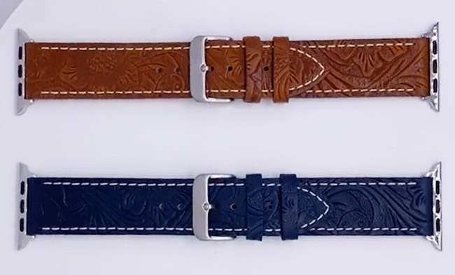 Custom Vintage Pattern Retro Watch Band Supplier