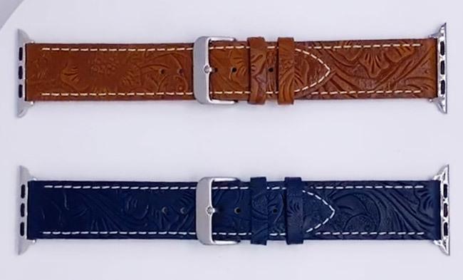 Custom Vintage Pattern Retro Watch Band Supplier