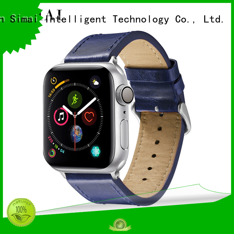 Simai orange off brand apple watch band suppliers for apple