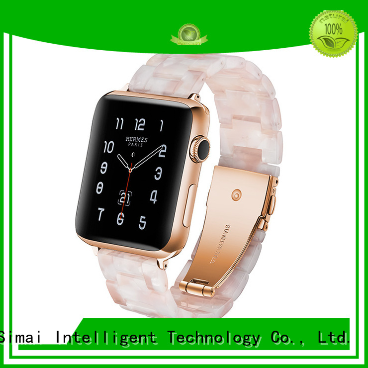 Simai black buy watch bands for business for Huawei