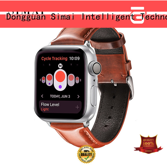 Simai Best soft leather watch band supply for Samsung