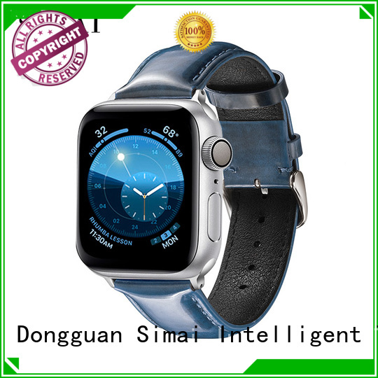 New leather strap band wine factory for Huawei