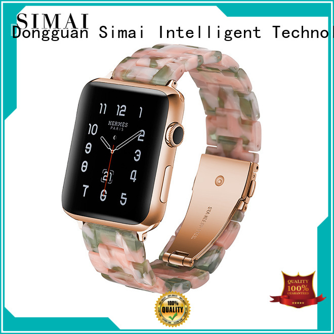 Simai Latest 22mm watch bracelets stainless steel for business for Huawei