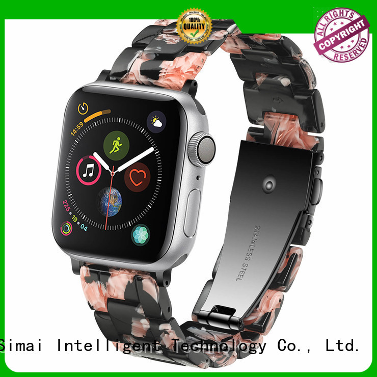 Simai light authentic apple watch bands manufacturers for apple