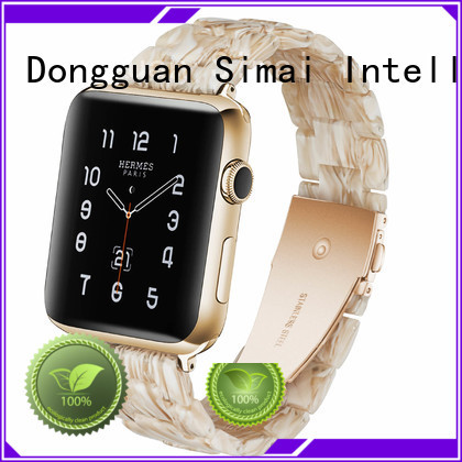 Simai nougat iwatch strap 38mm suppliers for cacio