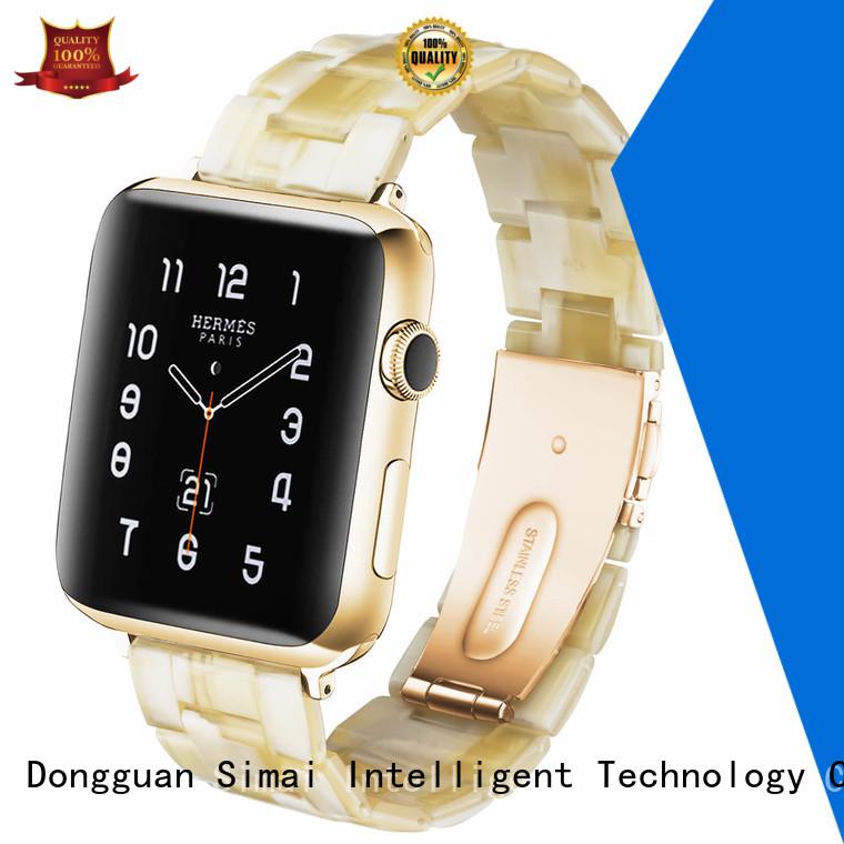 Simai obsidian wrist watch belt for business for cacio