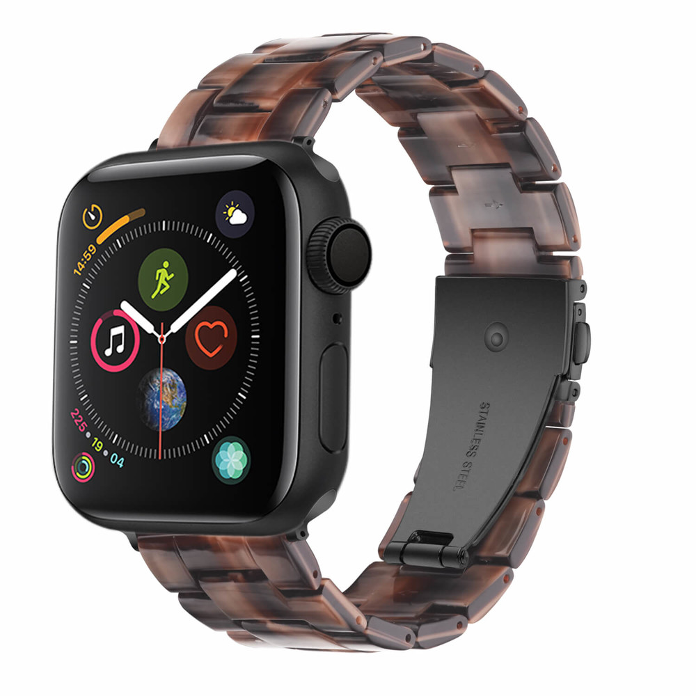 Custom Apple Watch Resin Band Chocolate Color