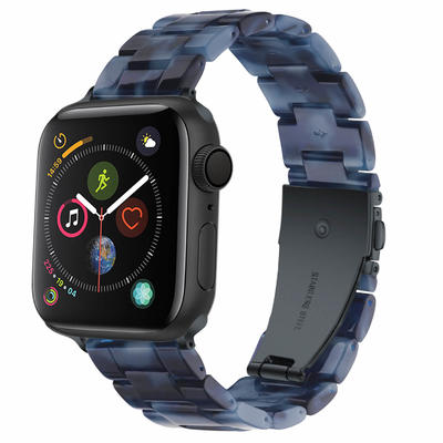 Wholesale Resin Strap for Apple Watch Dark Blue