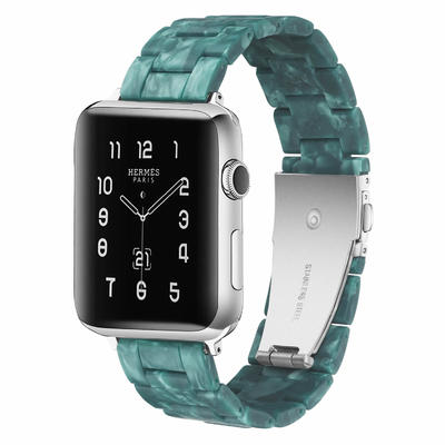 Matte Emerald Apple Resin Watch Band Manufacturer