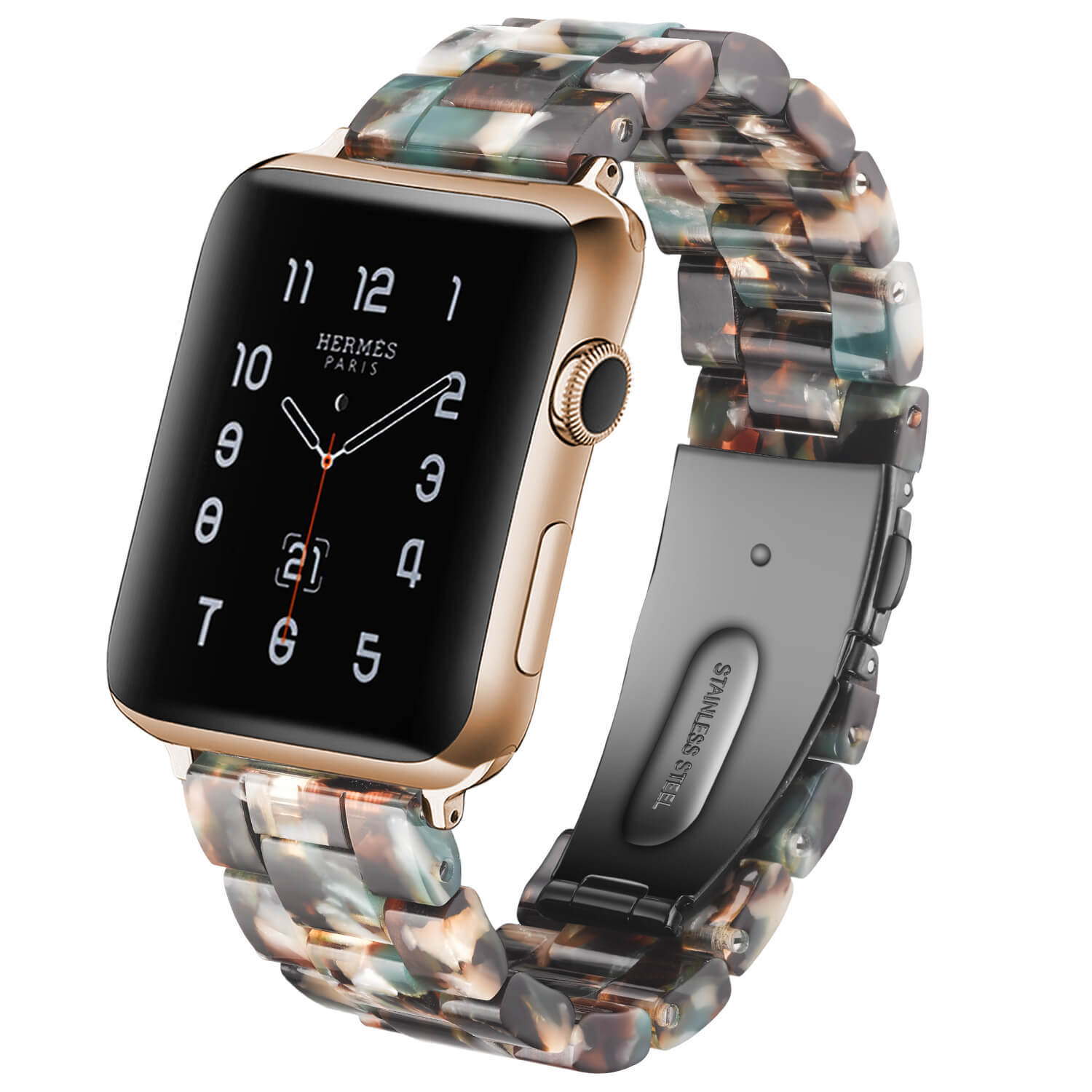 Apple Watch Resin Band Green Color Wholesale Supplier