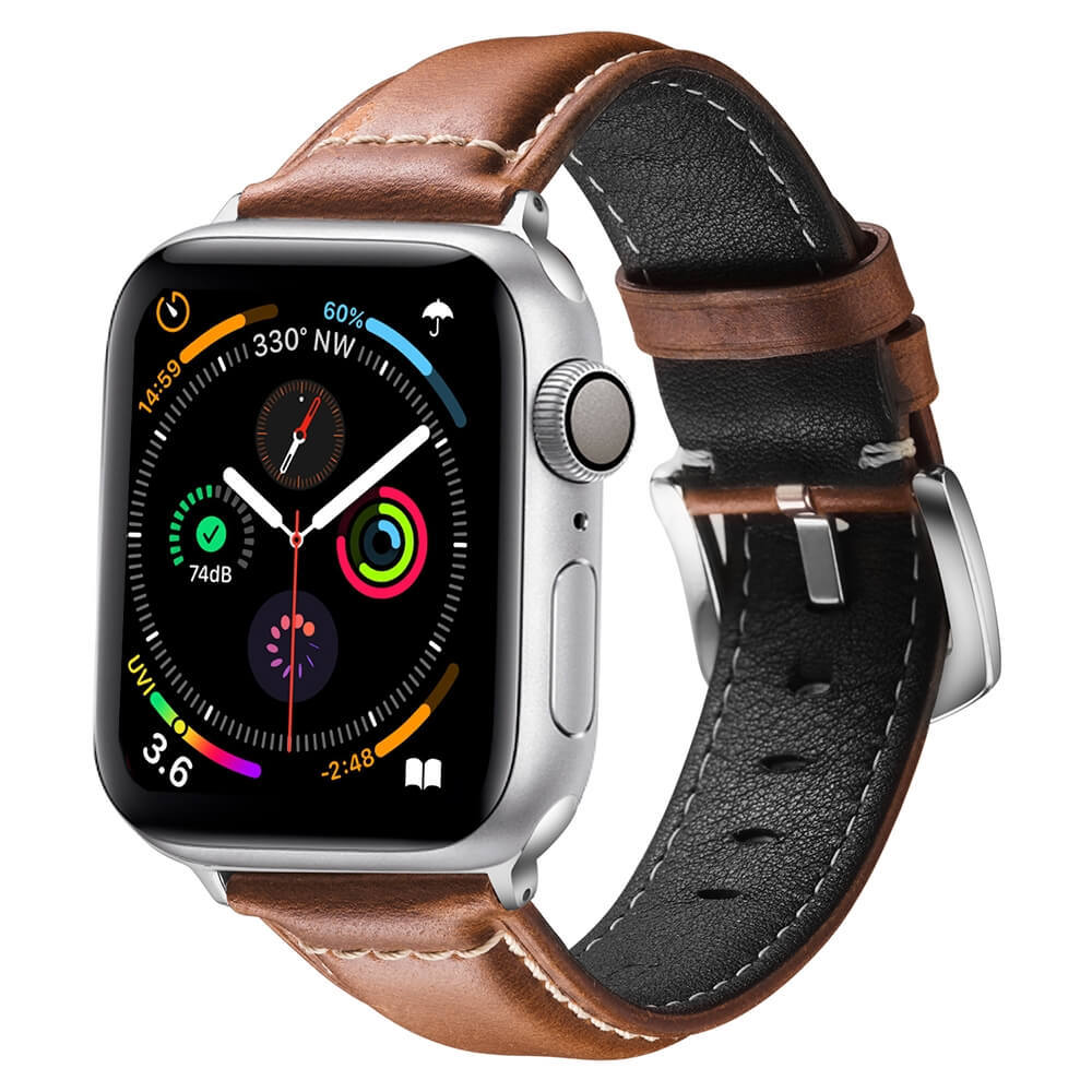 Awesome Apple Watch Bands Leather Watch Straps Vintage Brown