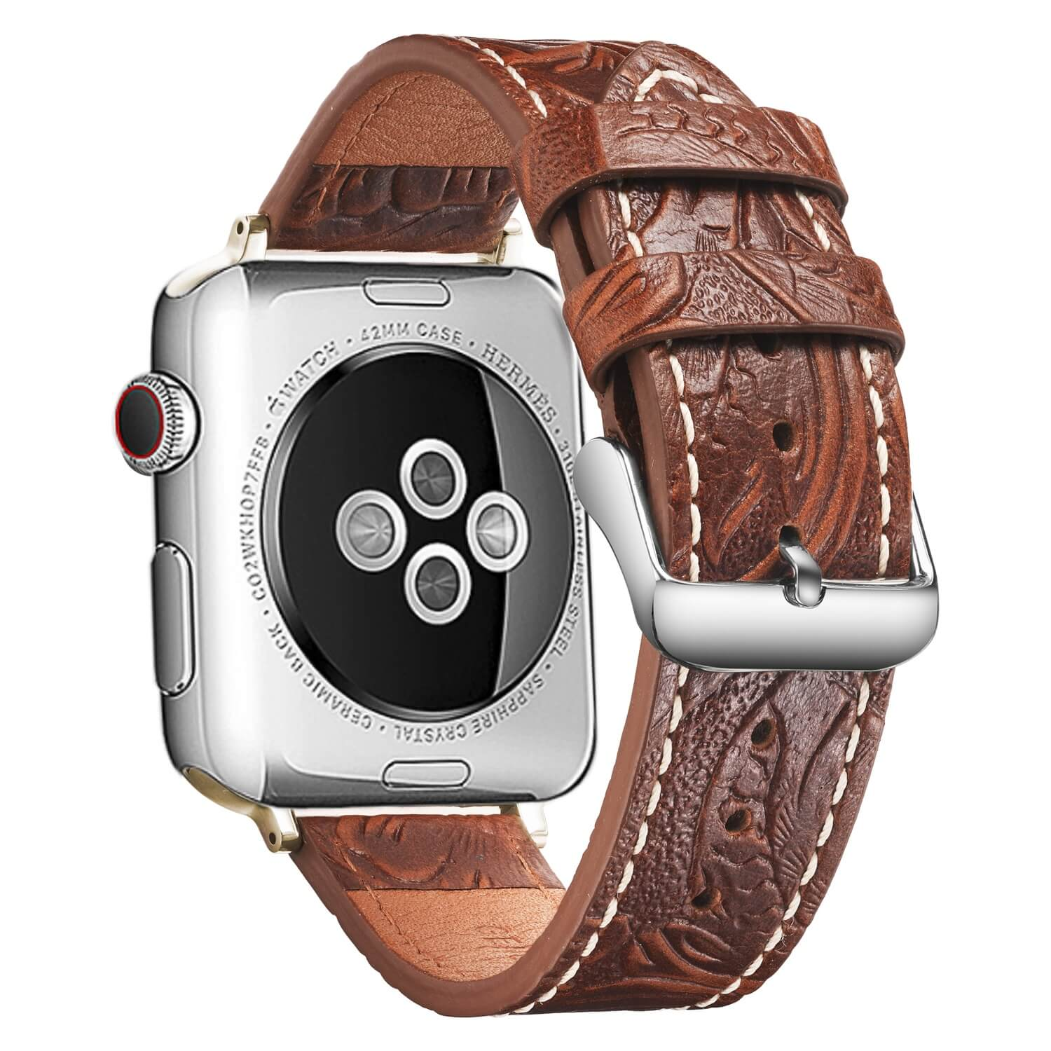 Simai Top leather wrist cuff watch straps company for Huawei-1