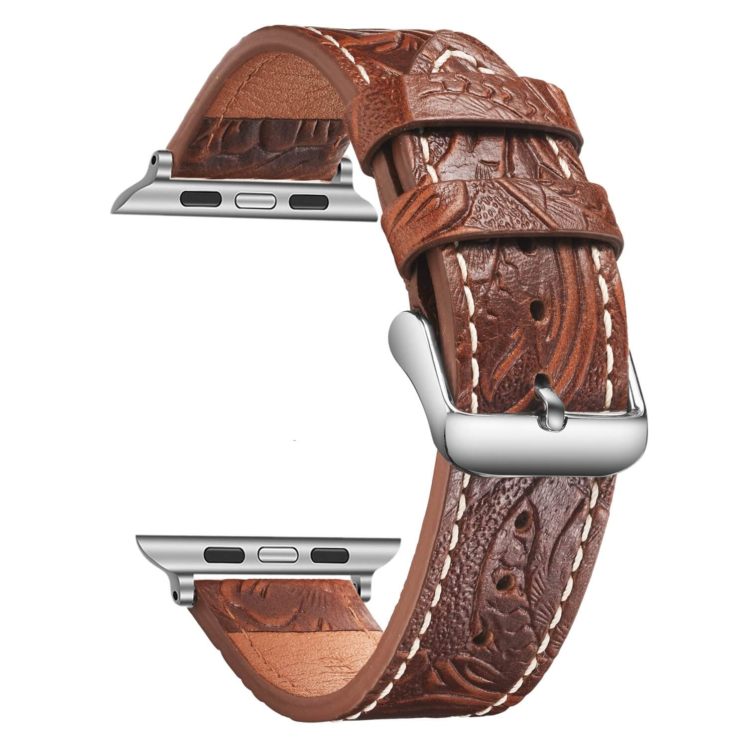 Simai Top leather wrist cuff watch straps company for Huawei-2