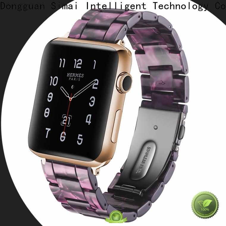 Simai manufacter iwatch metal strap company for Huawei
