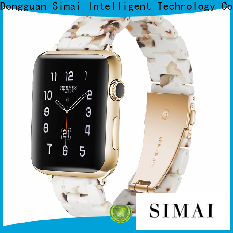 Simai Custom apple wristbands suppliers for cacio