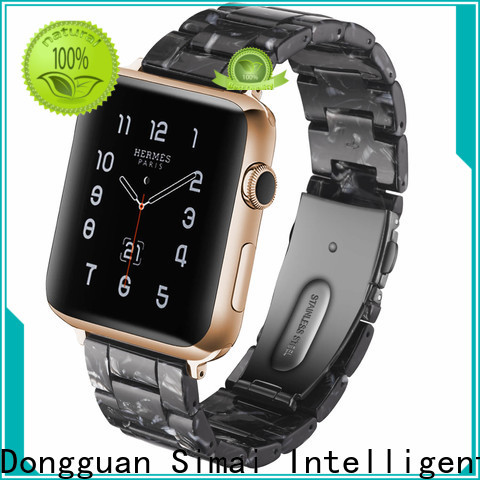 Simai quality apple watch strap 38mm for business for Huawei
