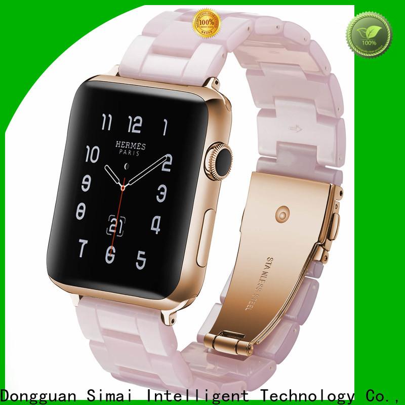 Simai Wholesale genuine apple watch strap company for cacio