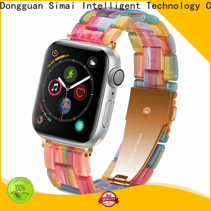 Simai Top watch bracelets for sale company for apple