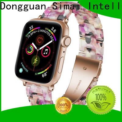Simai Best gold watch strap bracelet supply for apple