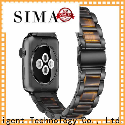 Simai Latest steel lined resin watch band manufacturer for business for cacio
