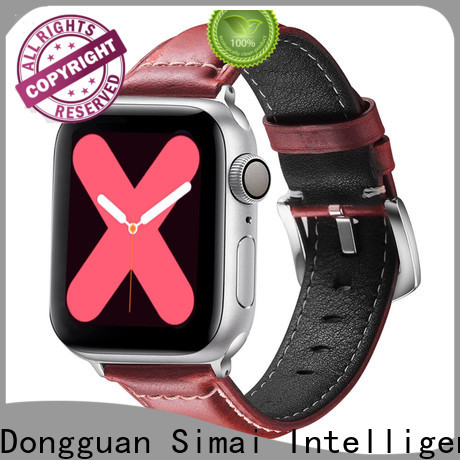 Simai Top amazon watch belt suppliers for apple