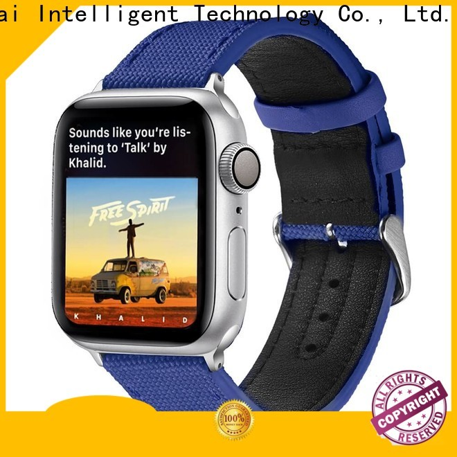 Latest canvas watch company leather for business for Huawei