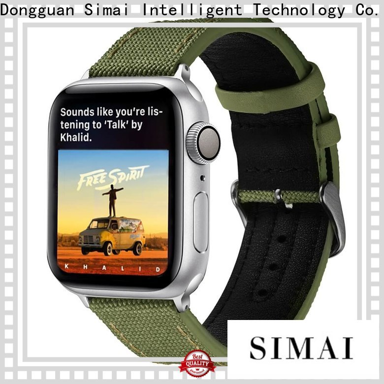 Simai Best best canvas strap watches manufacturers for apple