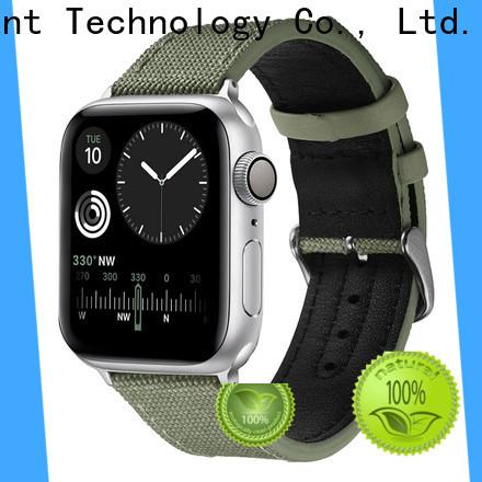 Simai Top citizen green canvas watch strap for business for cacio