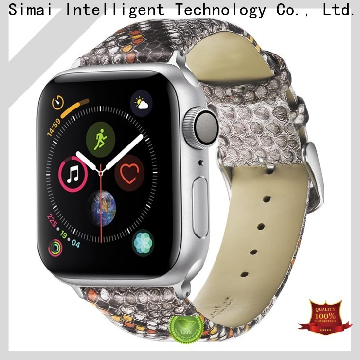 Simai Latest ladies leather watch straps uk factory for iwath