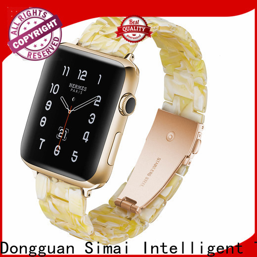 New apple watch rubber strap rose suppliers for Samsung
