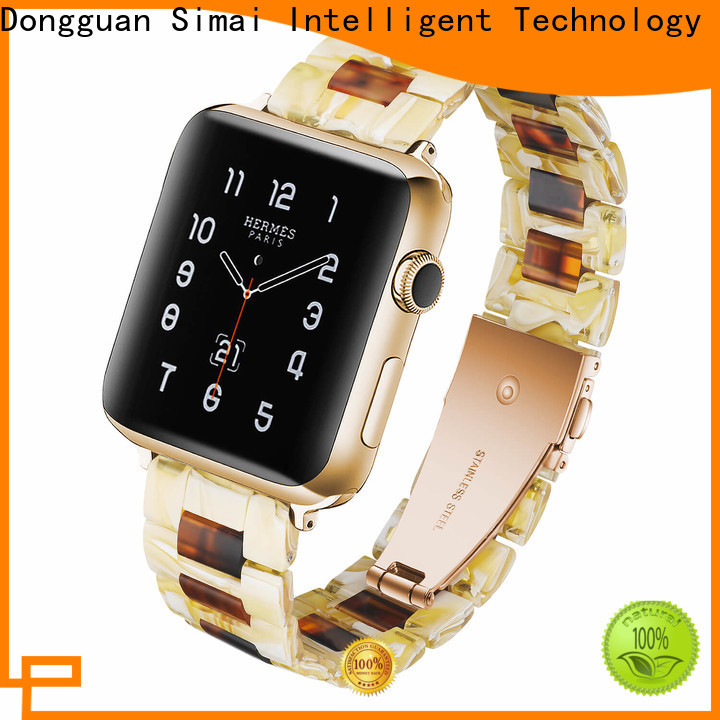 Simai water metal belt watch for business for apple