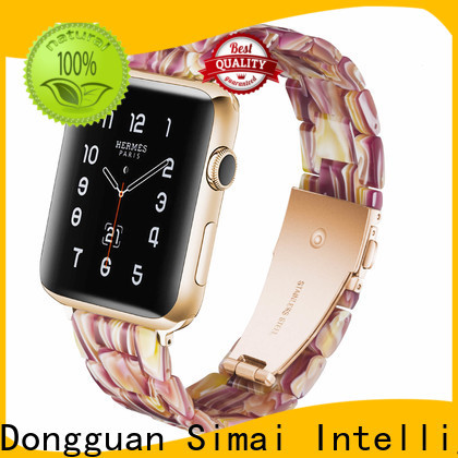 Simai High-quality apple watch stainless steel strap manufacturers for cacio