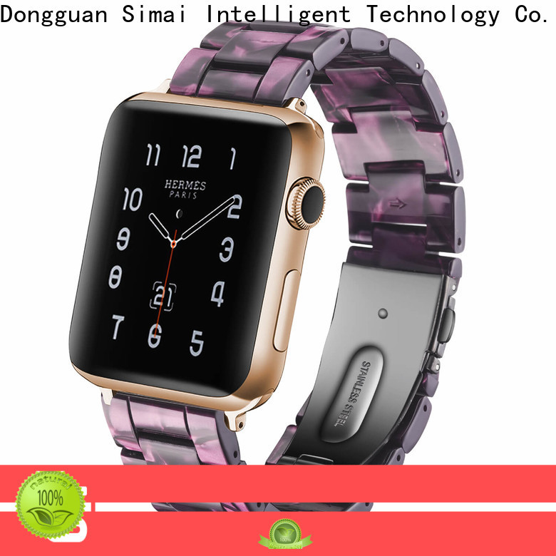 Simai New cool apple watch straps factory for Huawei