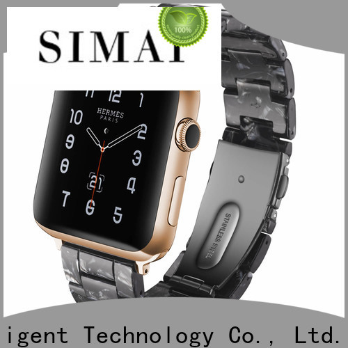 Simai chocolate seiko watch bands factory for apple