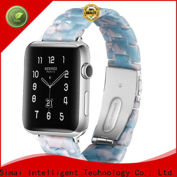 Simai stainless 38mm iwatch band factory for Samsung