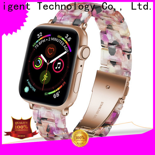 Custom 18mm resin watch strap stone manufacturers for Samsung