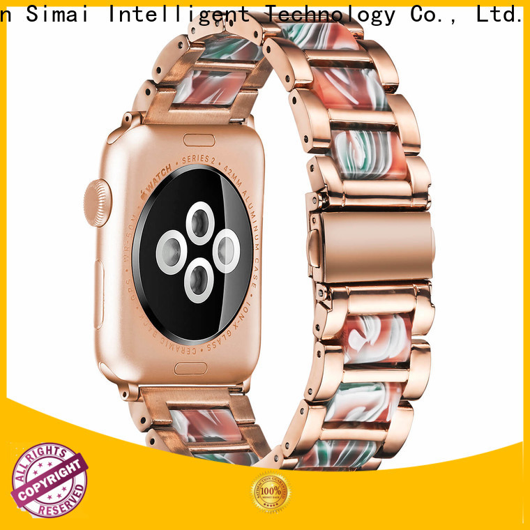 Simai bands leather watch bands wholesale supply for Huawei
