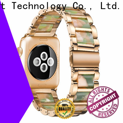 Simai New steel lined resin watch band for business for apple