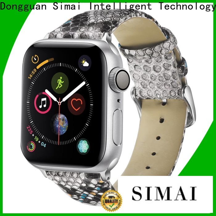 Simai straps 22mm watch band factory for apple