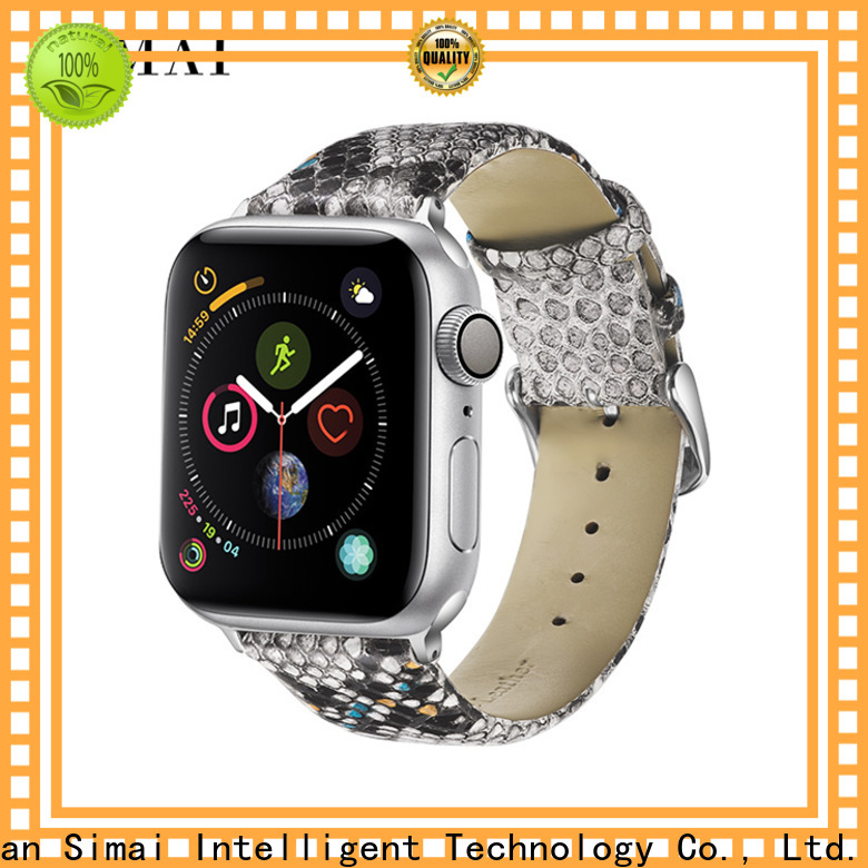 Wholesale 26mm watch strap snakeskin company for Huawei