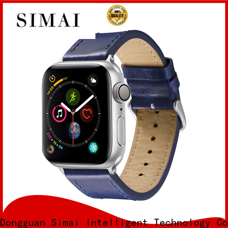 Simai New iwatch strap 38mm manufacturers for cacio