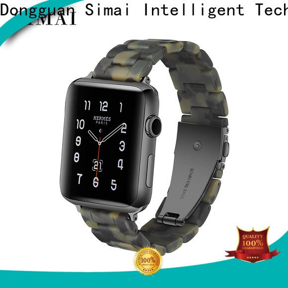 Simai emerald gold watch black band supply for Samsung